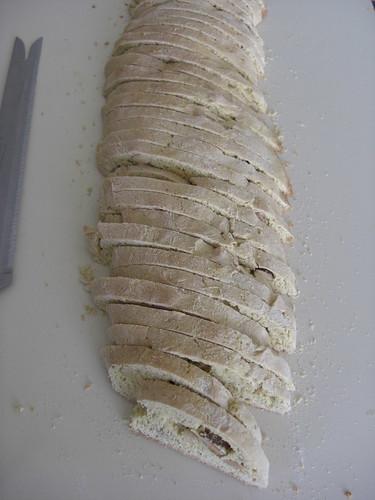 Lemon biscotti