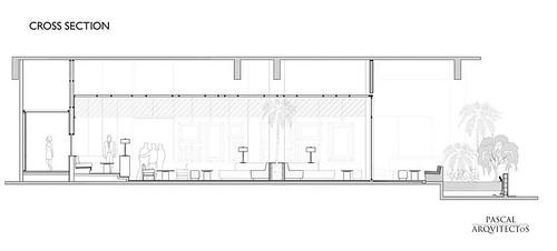 23 Nisha Bar Design - Cross section