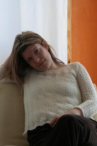 Vine Lace Pullover