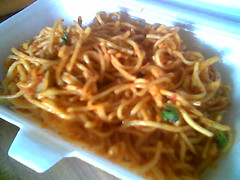 Delta's homecooked fried noodles