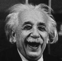 Super Jew Nerd Einstein used his defective genes to help the world.