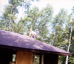 Alan Roofing Parent's cabin