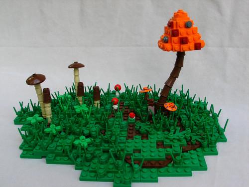 LEGO mushrooms shrooms