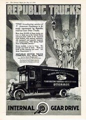 1918 Republic Trucks Moving Van