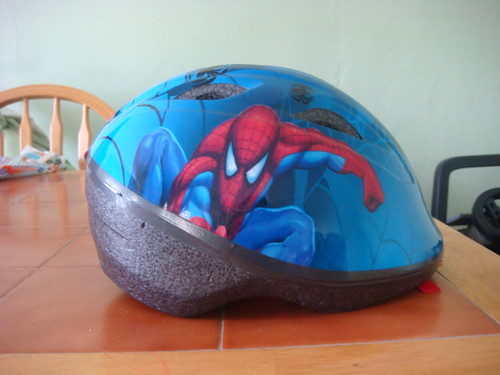 Kai's toddler helmet