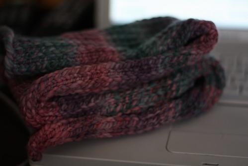 Slip-stitch Scarflet