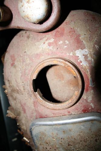 Inside gas tank
