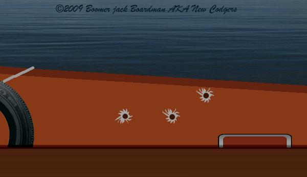 Bullet holes in Tenstrike