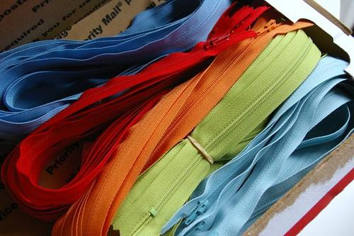 New zippers