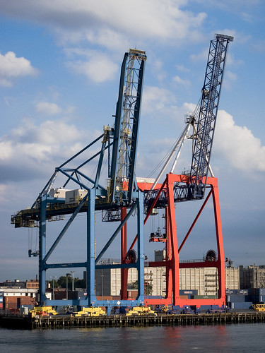 Red Hook Gantry Cranes by you.