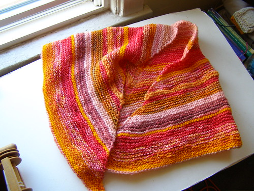 scrappy prayer shawl