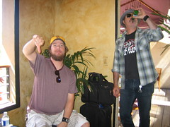 "Dan ""Thunder"" Bolton & Eddie Spaghetti of the Supersuckers."