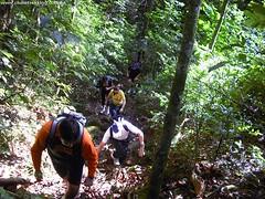Trilha da Cascata do Angico - Santa Maria RS -  www.clubetrekking.com.br