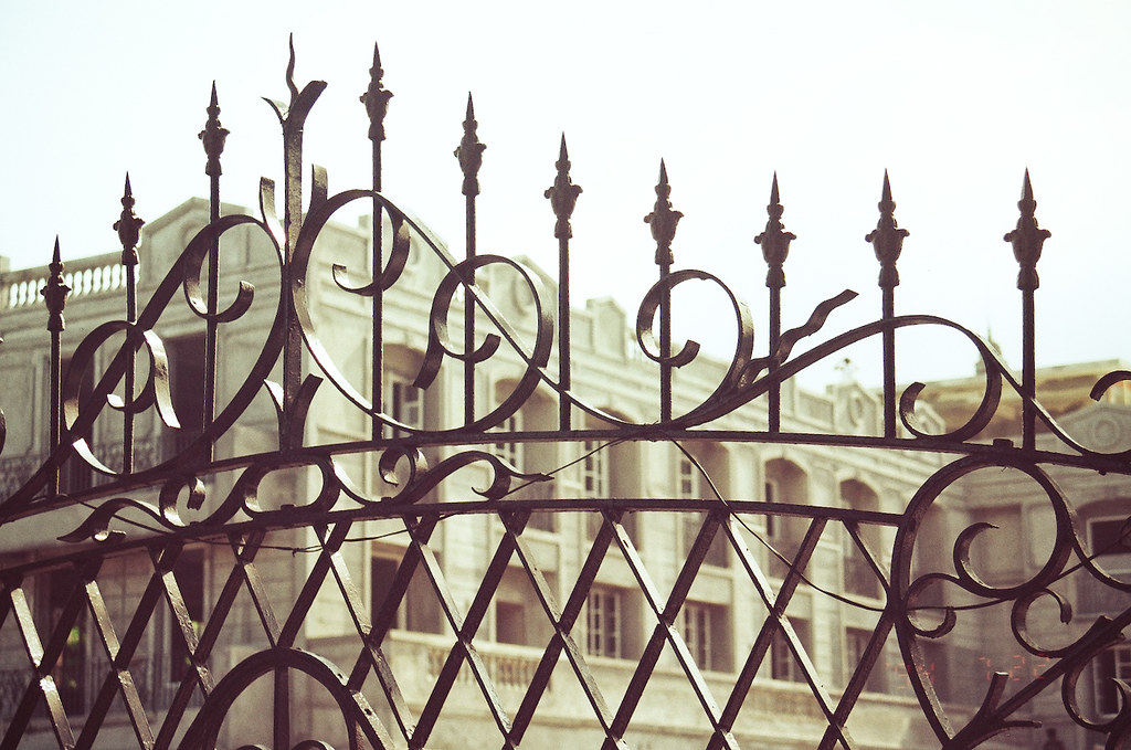 Iron Fence of Fort Santiago