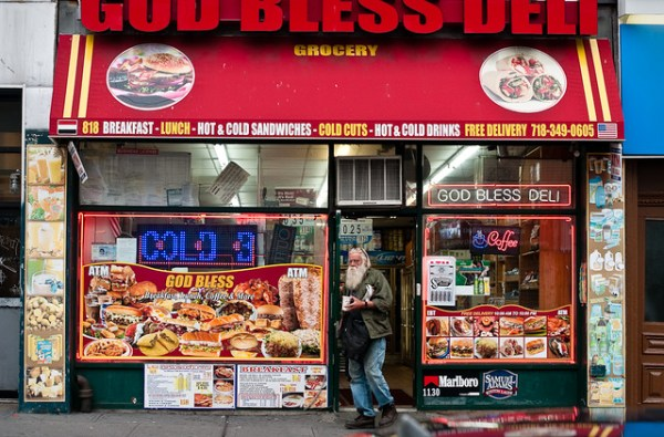 162/365 - God Bless Deli, Manhattan Avenue, Greenpoint.