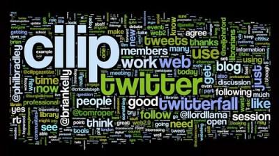 #cilip2 Wordle cloud