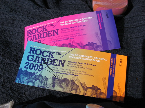 Member and General Admission Tickets