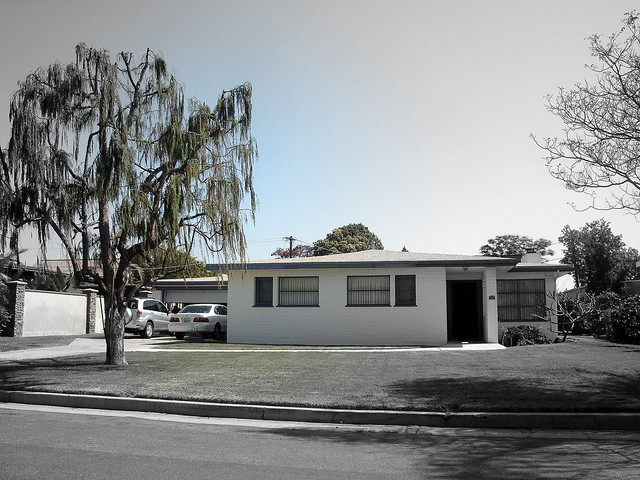 Example:  Pocket of Cool Mid-Century Ranch Homes in Oceanside CA