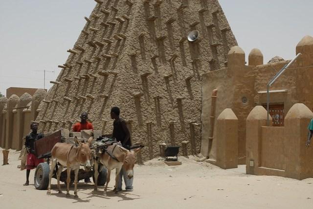 Timbuktu Mud Mosque, Mali, W. Africa