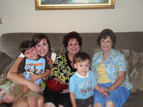 Wildman, Me, Yaya, Cutie Pie and Nana