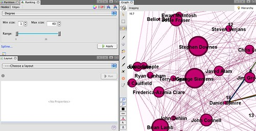 Node resizing within an expanded group in gephi