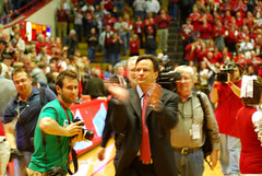 IU Coach Tom Crean