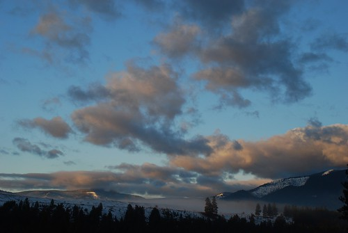 At sunrise - west