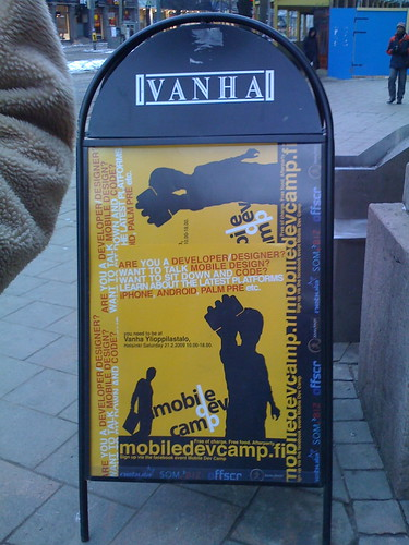 Mobile Dev Camp taking over Vanha