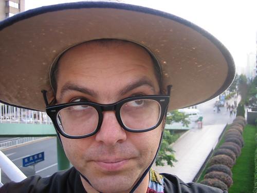 chicken china hat