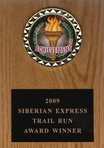 Siberian Express award