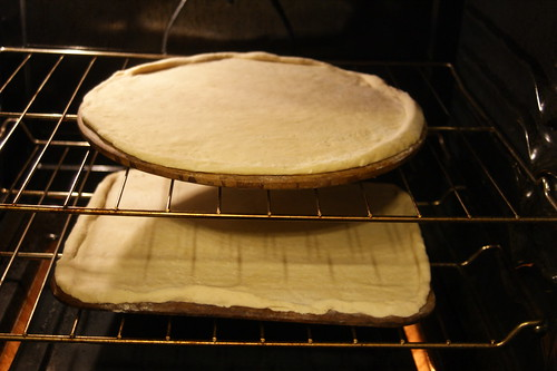 Pre-bake the crusts about 5 minutes.