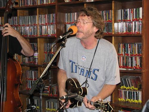 Sam Bush live at KSUT studio