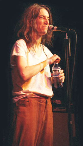 Patti Smith  (Asheville NC, 1997)