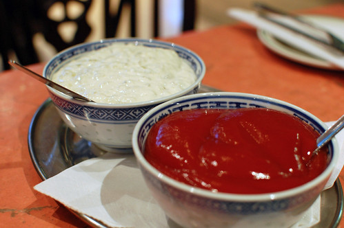Tartar Sauce and Ketchup