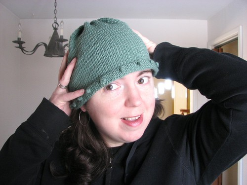 Hat, finished.