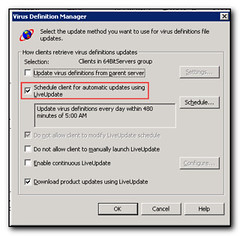Set this to ensure Symantec Antivirus 64 bit clients update  (by absoblogginlutely)
