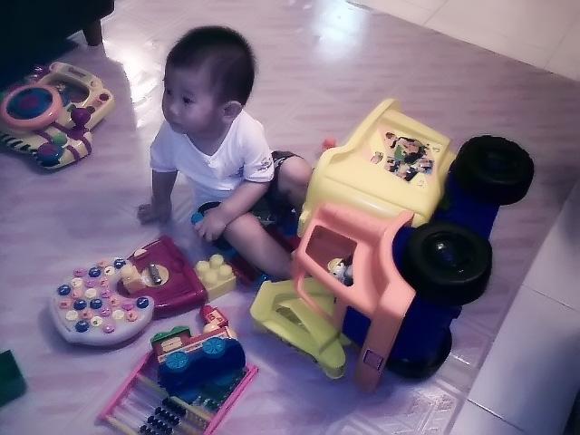 Isaac at Granny Place