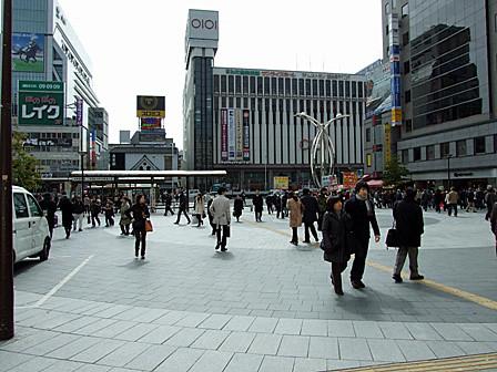 錦糸町駅にて待ち合わせ