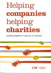 CAF's Helping companies helping charities book...