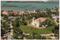 Vista aérea da Igreja de Santo Antônio do Carmo. Foto: Passarinho/Pref.Olinda