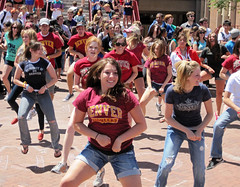 Flash Dance Mob