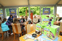 The Sims 3 Ambitions fan event in Czech