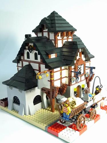 LEGO Castle tavern