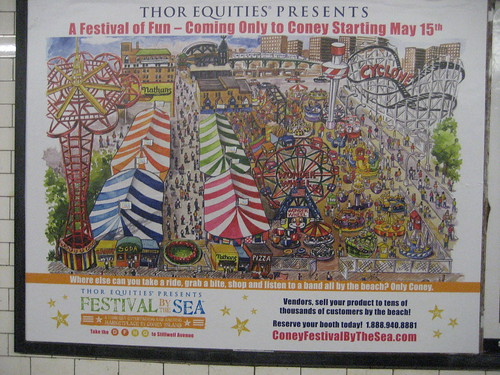 2009 Poster for Thor Equities Failed Flea By The Sea. May 11, 2009. Photo © Tricia Vita/me-myself-i via flickr