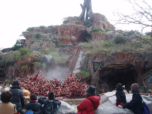 Splash Mountain - look out for Brer Rabbit!