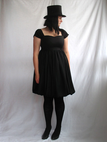 empire waist balloon dress