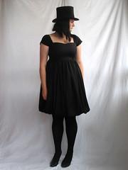 empire waist balloon dress