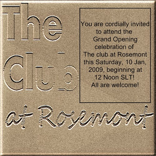 Club at Rosemont Grand Opening Celebration