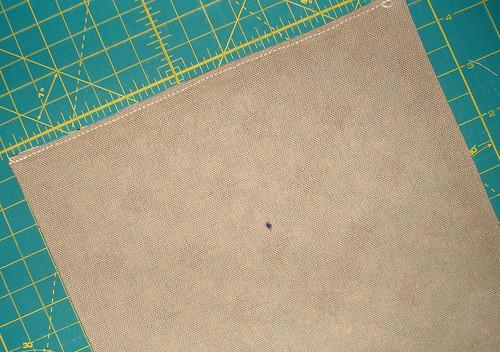 money bag - ribbon prep