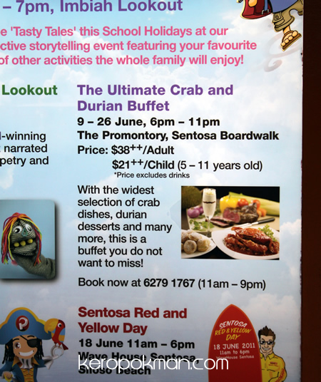 The Ultimate Crab and Durian Buffet